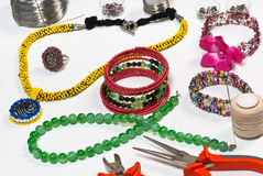 Fashion jewellery Stock Photos