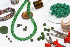 Fashion jewellery Stock Photography