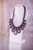 Fashion jewelry, beads, decorations Stock Photo