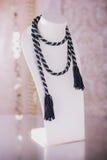 Fashion jewelry, beads, decorations Stock Photos