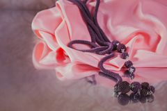 Fashion jewelry, beads, decorations Royalty Free Stock Photos