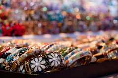 Fashion jewelry bracelets; Royalty Free Stock Photo