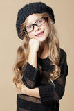 Fashion kid girl Stock Photos