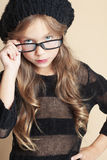 Fashion kid girl Stock Image