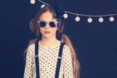 Fashion kid girl Stock Photography