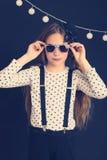 Fashion kid girl Royalty Free Stock Photo