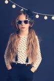 Fashion kid girl Royalty Free Stock Image