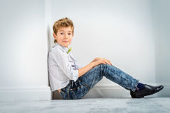 Fashion kid model Stock Photography