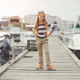 Fashion kids royalty free stock images