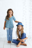 Fashion kids Royalty Free Stock Image