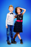 Fashion kids Stock Photography
