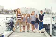Fashion kids Stock Images