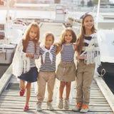 Fashion kids Royalty Free Stock Photography