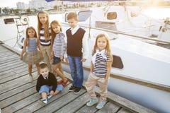 Fashion kids Royalty Free Stock Image