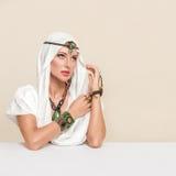 fashion kvinnan royaltyfri bild