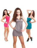 Fashion ladies Royalty Free Stock Photography
