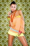 Fashion lady Stock Image