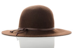 Fashion lady hat Stock Image