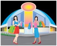 Fashion lady shape Stock Image