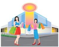 Fashion lady shape Stock Images