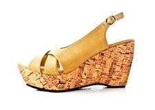 Fashion lady shoe Royalty Free Stock Images