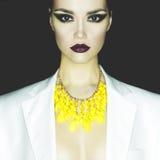 fashion ladyen Arkivfoton