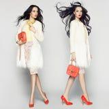 fashion ladyen Arkivfoto