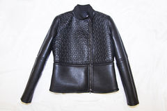 Fashion leather jacket Royalty Free Stock Photography
