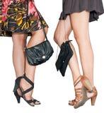 Fashion legs stock photo