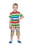 Fashion little boy Stock Image