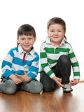 Fashion little boys Stock Photos