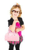 Fashion little girl. Stock Images