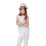Fashion little girl Stock Photos