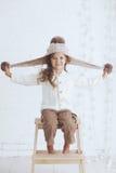 Fashion little girl Royalty Free Stock Image