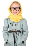 Fashion Little Girl Stock Image