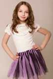 Fashion little girl Royalty Free Stock Photography