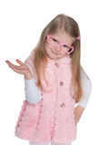 Fashion little girl Royalty Free Stock Photos