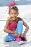 Fashion little girl Stock Images