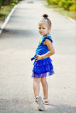 Fashion little girl Royalty Free Stock Photo