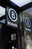 Fashion logo Bogner Stock Photography