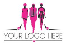 Fashion logo Royalty Free Stock Photos