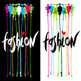 Fashion logo design. Stock Photo