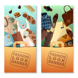 Fashion Look Banners Stock Image