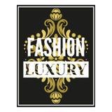 Fashion luxury frame Royalty Free Stock Photos