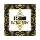 Fashion luxury frame Stock Photos