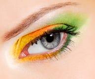 Fashion make-up - �hameleon Stock Image