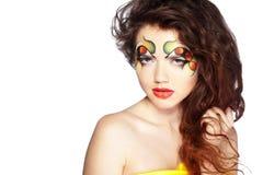 Fashion make-up Royalty Free Stock Photo