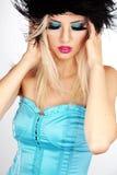 Fashion make-up royalty free stock image