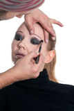 Fashion make up Stock Image