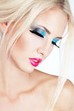 Fashion make-up Royalty Free Stock Photos